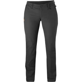 Fjällräven Abisko Pantalones Mujer, dark grey